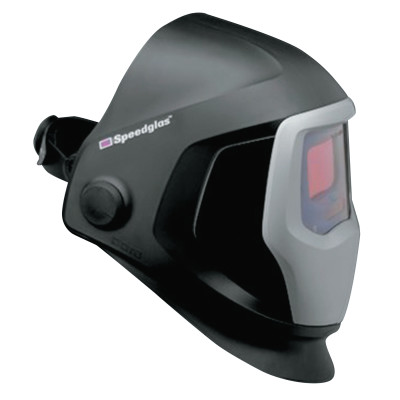 Speedglas 9100 Series Helmet with Auto-Darkening Filter, 2.8 in x 4.2 in, Black